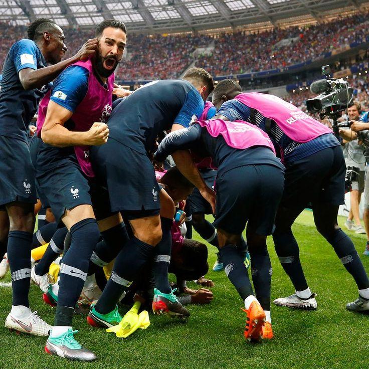 France Croatie Resume Du Match