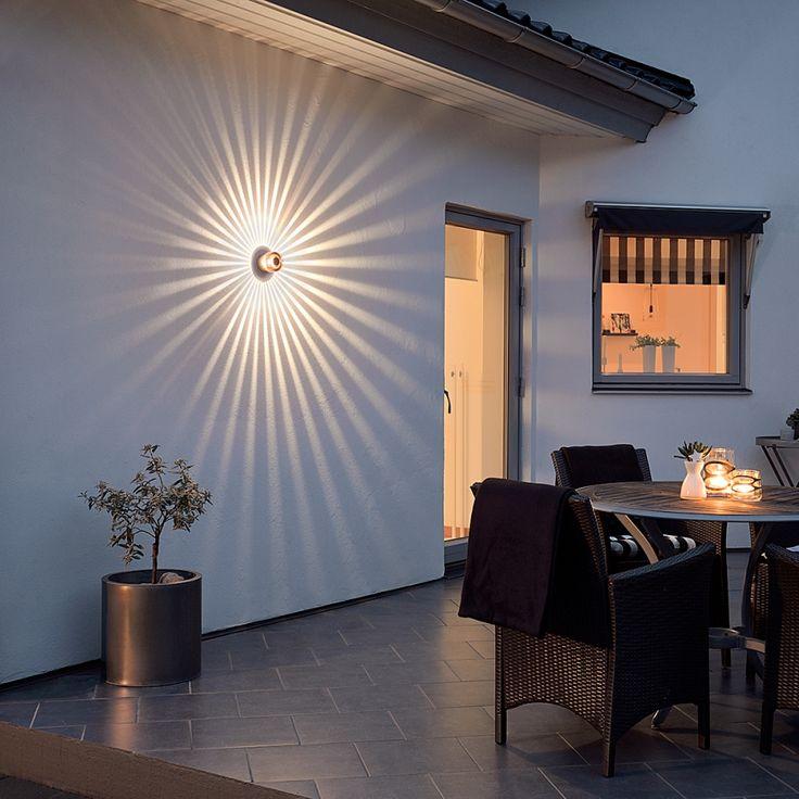 Die besten 25 wandleuchte treppenhaus ideen auf pinterest - Terrassenbeleuchtung wand ...