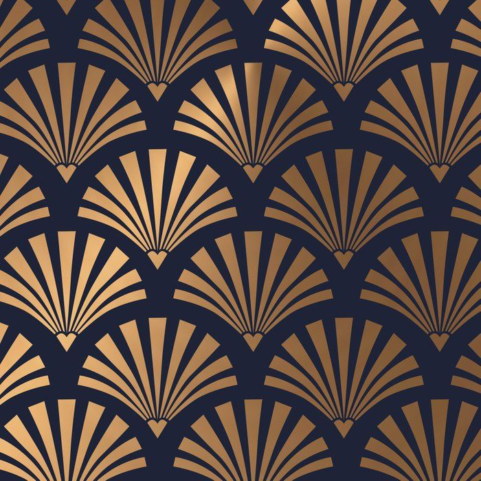Floor Pattern Art Deco Shell Pattern Leggings By Shell
