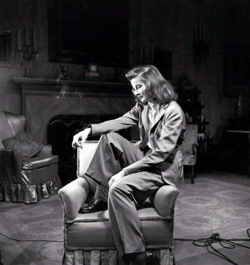 Portrait of  Katharine Hepburn  in Philadelphia Story directed by George Cukor, 1940.