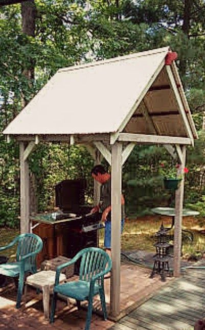 17 Best images about covered grill areas on Pinterest ...