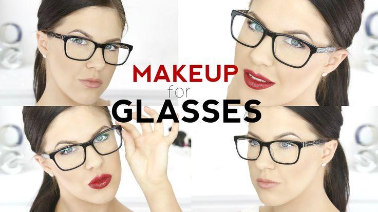 Makeup For Glasses! | Nikkia Joy