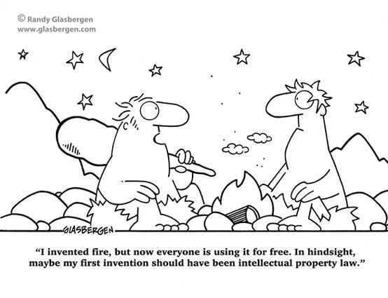Lawyer Humor: Intellectual Property Law
