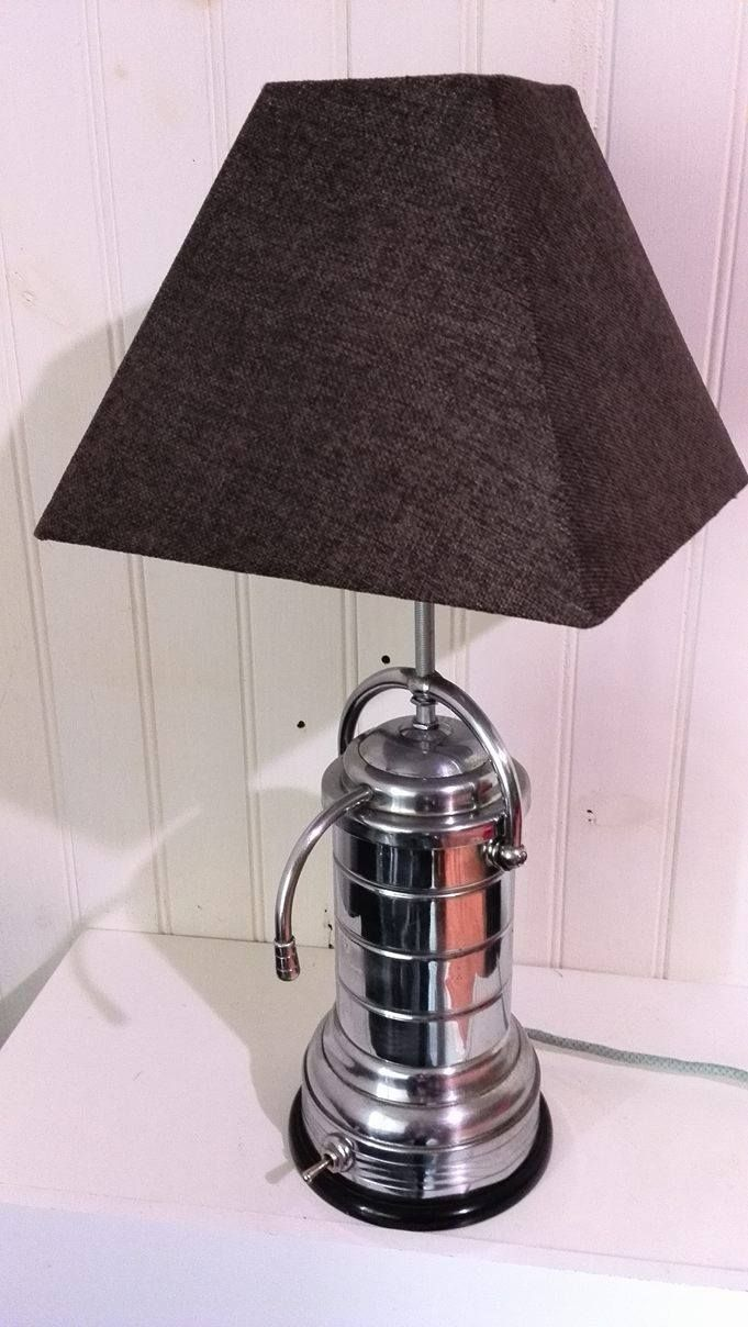 Lampe à poser. Cafetière percolateur CAMBI FRANCE 1950