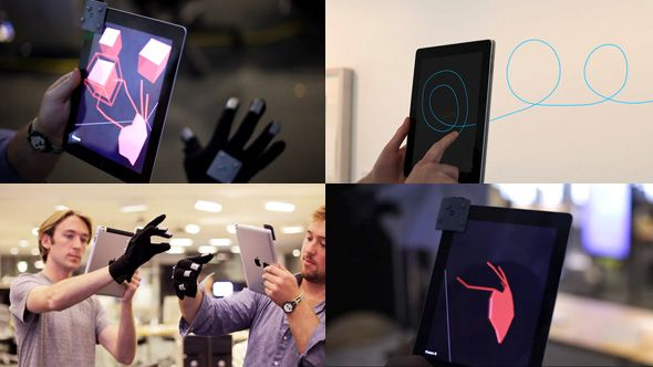 T(ether) – AR Interface from MIT