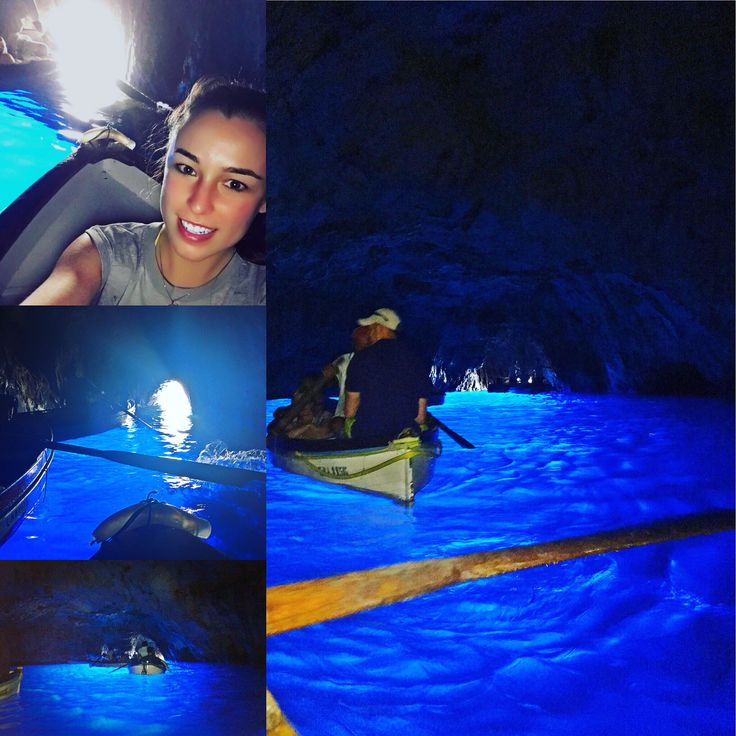 Blue Grotto in Italy.