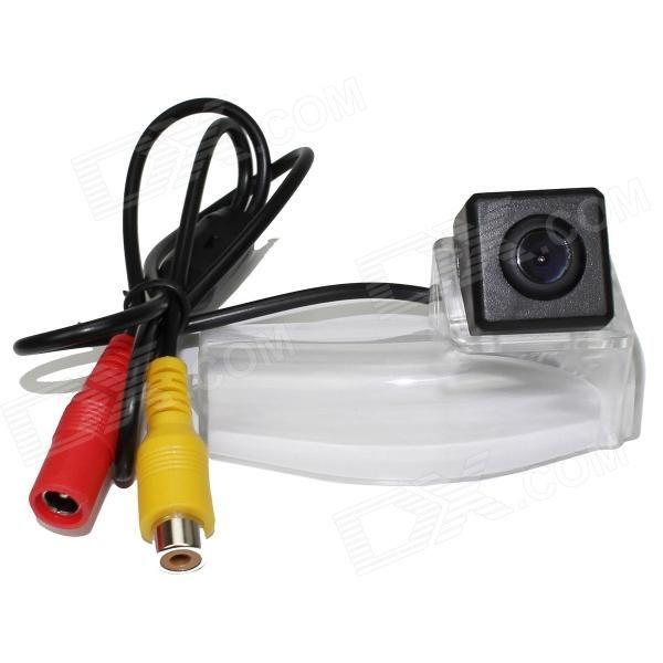 LsqSTAR ST-928 CCD Wide Angle Car Rearview Camera for MAZDA 2 / MAZDA 3 - Black