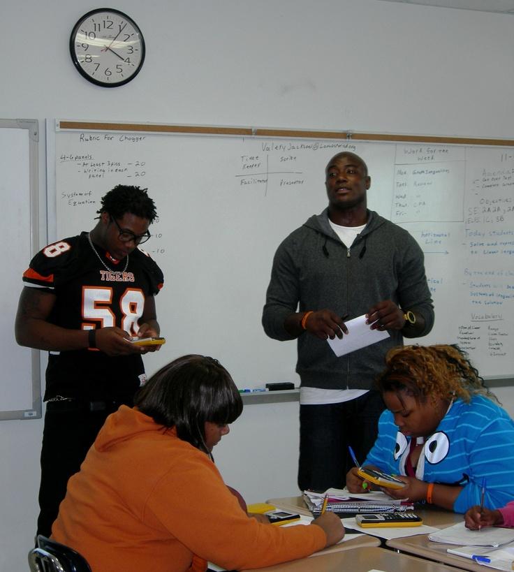Stem School In Dallas: Dallas #Cowboys Linebacker DeMarcus Ware Helped Inspire