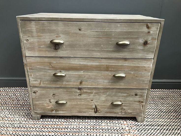 Nutkin chest of drawers made of reclaimed fir. hand carved from solid fir reclaimed from old buildings so no two are the same, with a beautiful beached timber finish. Product name Direct Furniture. | eBay!