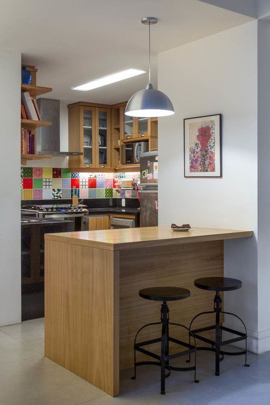 6 cocinas pequeñas que son grandes
