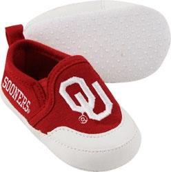 Oklahoma Sooners Cardinal Baby Prewalk Shoe
