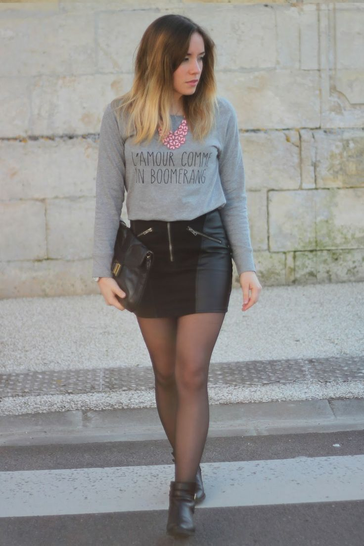 Grey outfit #fashion #fashionblogger #outfit #ootd
