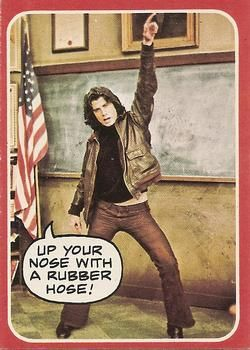 """Up Your Nose with a Rubber Hose!"" Vinny Barbarino from Welcome Back Kotter"