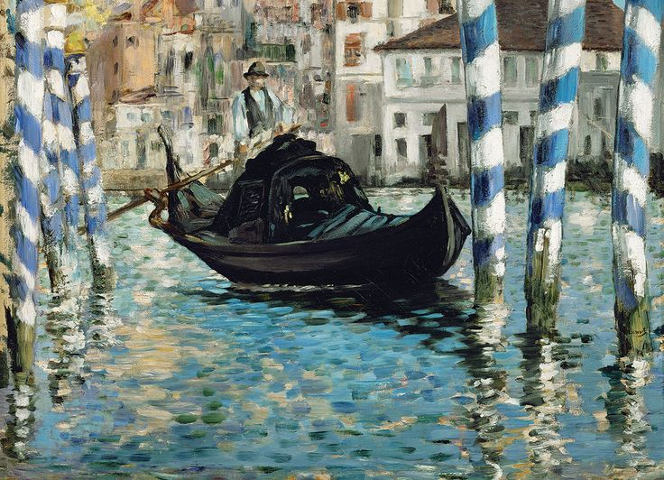 Edouard Manet - Le Grand Canal, Venise (Venise bleu). 1000 pieces. Le Grand Canal is the main waterway in Venice. Take a relaxing  trip of Venice on the Grand Canal which ends at the famed Saint Mark Basin.
