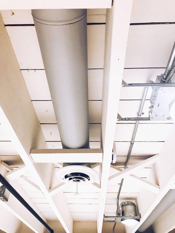 Diy Painted Basement Ceiling Project Basement Ceiling Painted Basement Ceiling Ideas Cheap Basement Decor