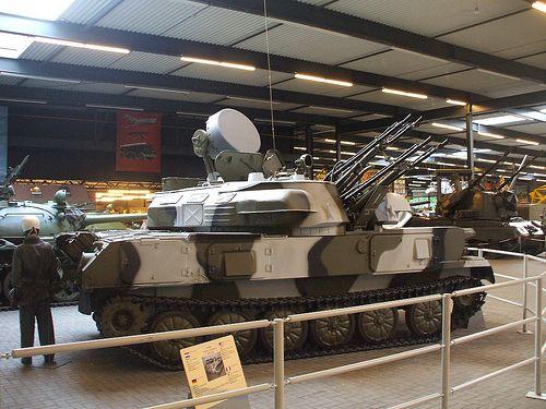 ZSU 23/4 Russian Anti Aircraft