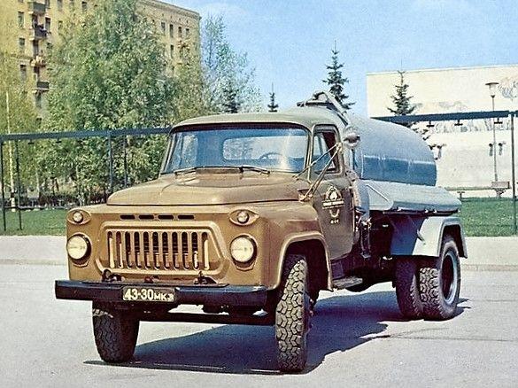 Cesspool truck GAZ-53A