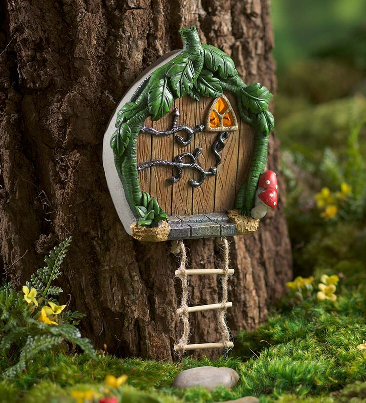 471 best images about miniature fairy gardening fairy for Mini fairy door