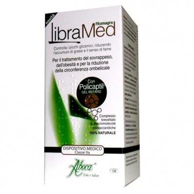 FITOMAGRA LIBRAMED  Libramed è un prodotto per il trattamento di sovrappeso e obesità. Favorisce la riduzione del peso corporeo e della circonferenza ombelicale.