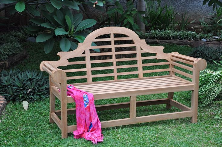 marlborough style garden bench