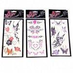 Tatouages Transfert Papillon