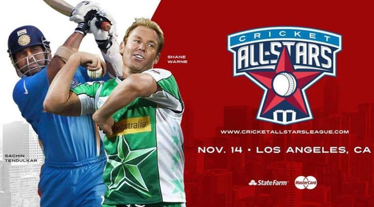 Follow Cricket All-Stars Series Schedule and Fixtures between two teams Sachin Blasters and Warne Warriors.