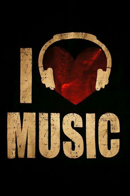 I Love My Music-it'll always remain, & won't fade.❤️