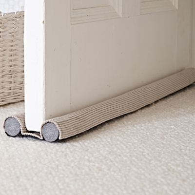 Under-Door Draught Excluder - make some of these for my house!