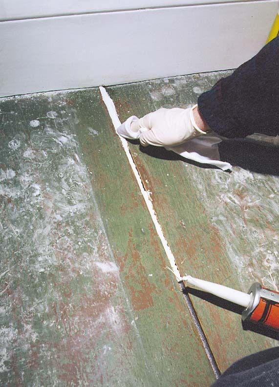How To Re Painted Wood Floors Nesting Pinterest Flooring And