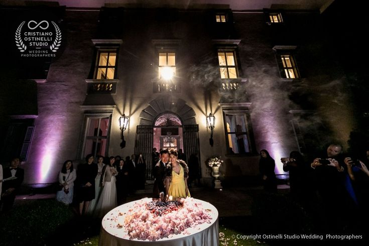 villa balbiano wedding party