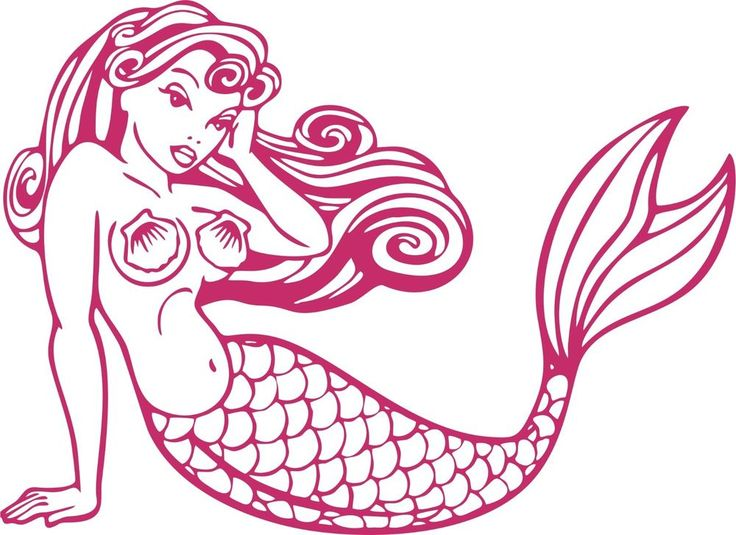 Best Custom Vinyl Decal Stickers Images On Pinterest Custom - Mermaid custom vinyl decals for car