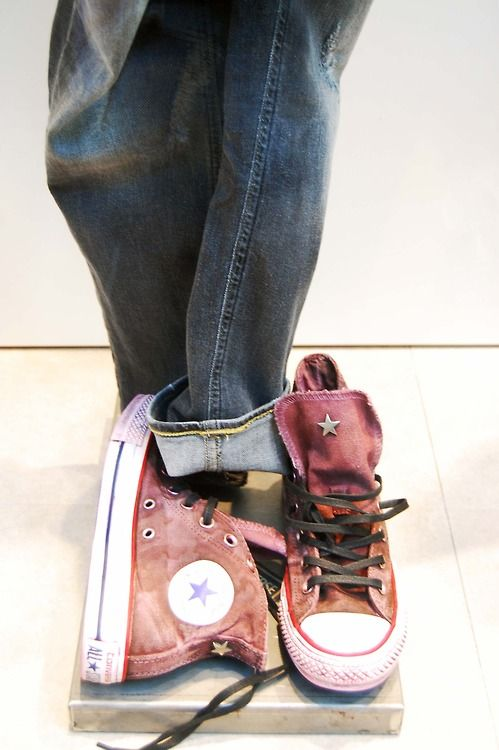 Converse All Star Limited Edition Shop Window