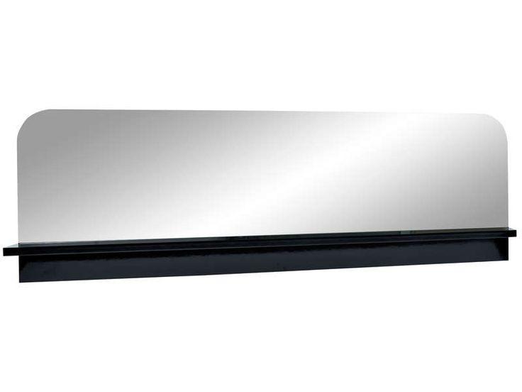 Miroir pas cher Conforama, achat Miroir FLOYD coloris noir prix promo Conforama 187.65 € TTC au lieu de 219 €