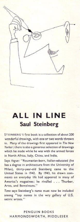 saul steinberg                                                                                                                                                                                 More