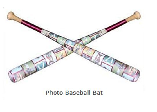 27 best images about team sports gifts on pinterest for Baseball bats for crafts
