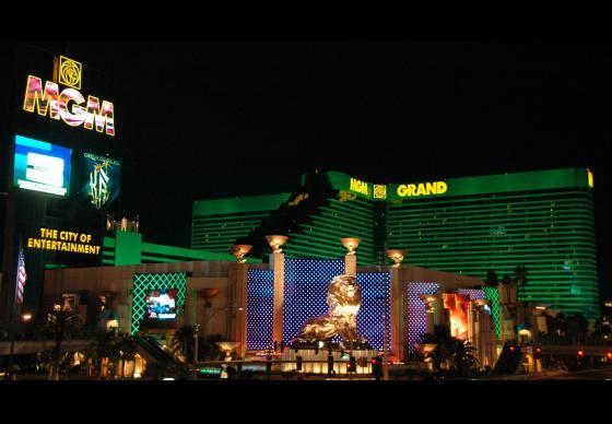 Alicia Lucik at MGM Grand Hotel