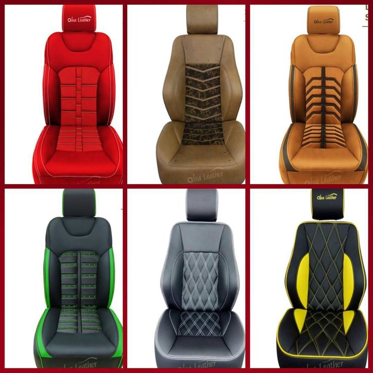 Custom Seats Red Tan Black Green Yellow Ferrari Daytona