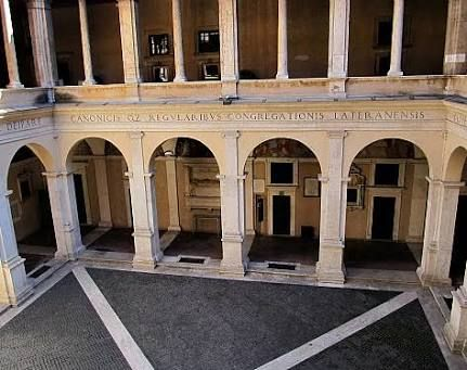 Image result for internal courtyard cloister