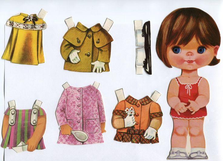 muñecas recortables arnalot - Buscar con Google