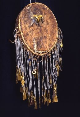 "➰ The Drum, often referred to as the ""Shaman's Horse"" has a spirit and a name, and it can take the Shaman traveling far into the other realms of existence〰who then returns with answers, gifts and sometimes even lost pieces of the soul ~ Noga Gal Sami Drum (digitaltmuseum.no)"