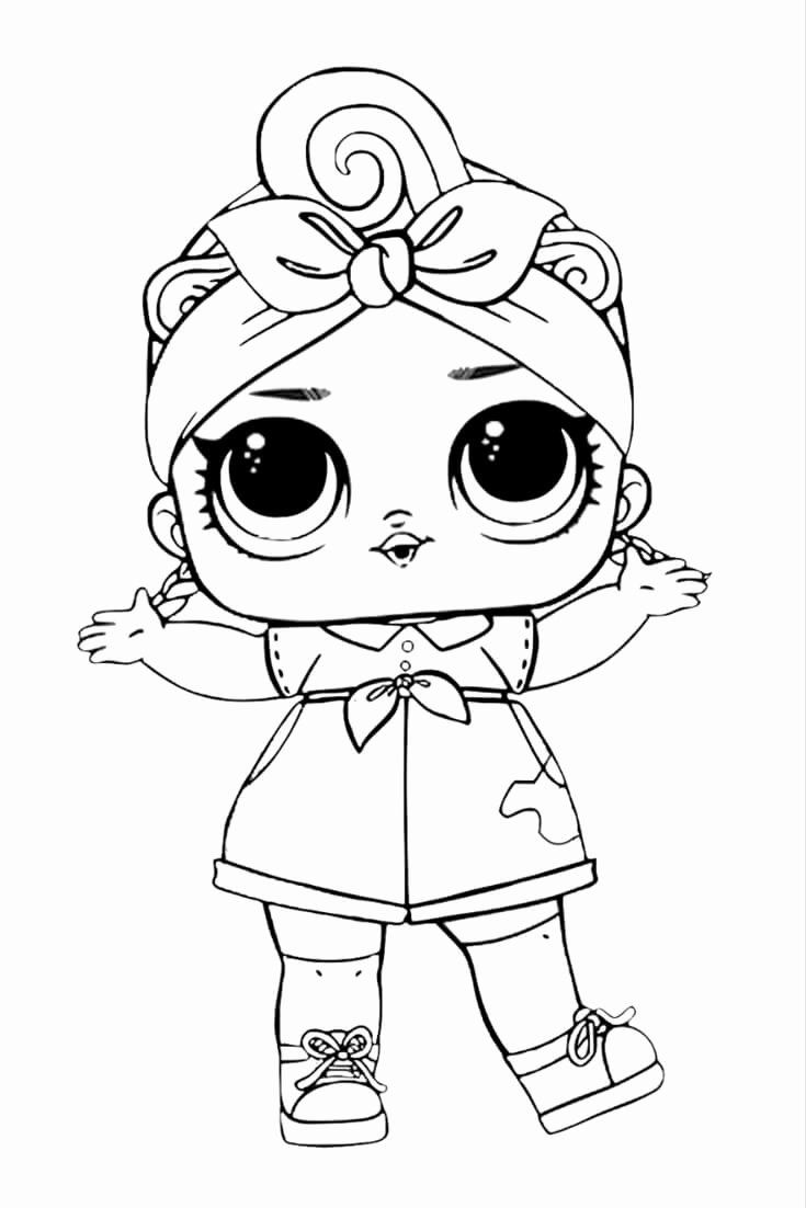Lol Dolls Coloring Page Fresh 40 Free Printable Lol Surprise Dolls Coloring Pages Unicorn Coloring Pages Cool Coloring Pages Cartoon Coloring Pages