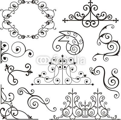 http://pixers.fr/tableaux-et-posters/fer-forge-motifs-ornementaux-17940399?material_id=1