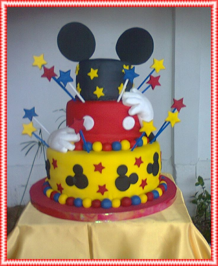 27 best images about tortas mini o micky on pinterest for Decoracion de tortas infantiles