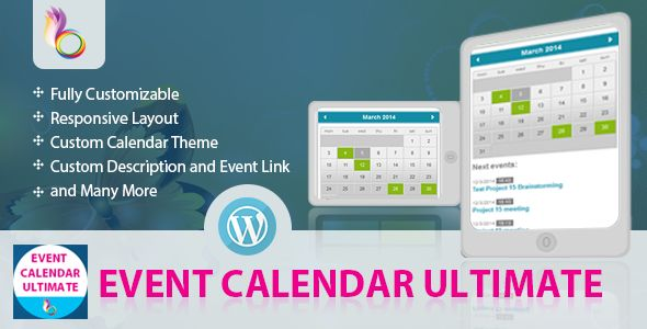Event Calendar Ultimate - WordPress