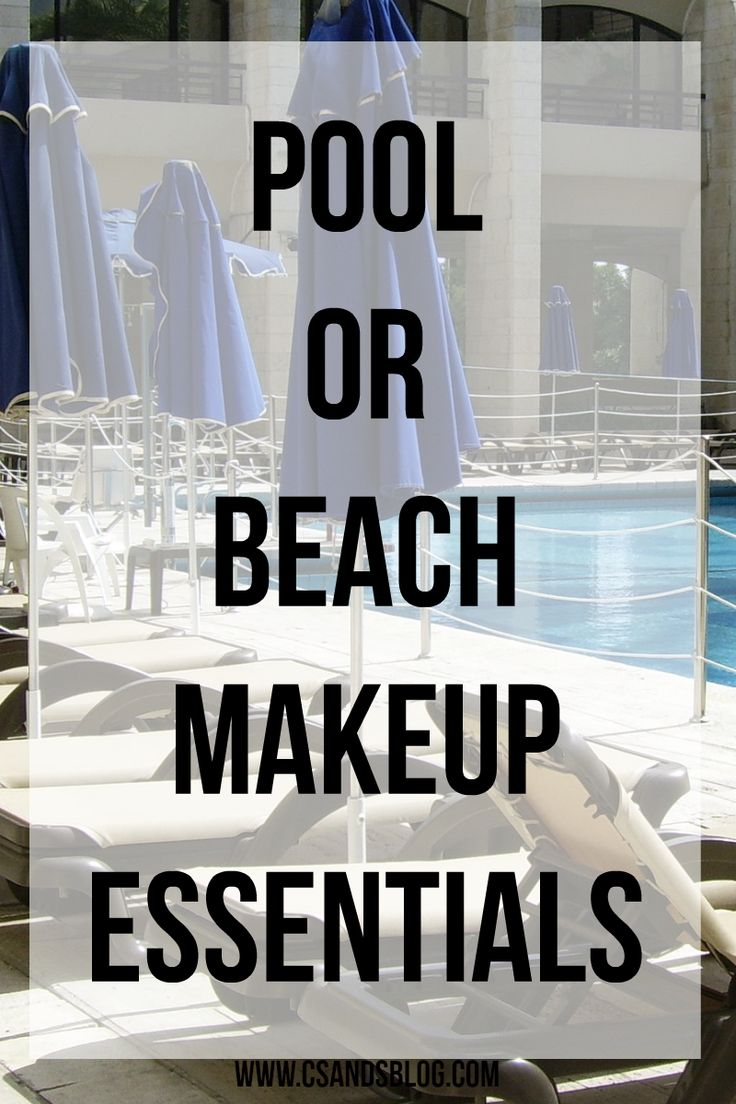 Since summer is around the corner (well it's kicked in for us in WI already), I wanted to write a post on some tips and makeup products you can wear to the pool or beach without having the caked on feeling. I dislike wearing a lot of makeup in the summer because my skin gets so oily and sweaty fast from the hot weather, so if I'm going to wear anything in the summer as far as makeup I want to wear to products that are going to be great for a hot day. Plus wearing your everyday makeup routine…