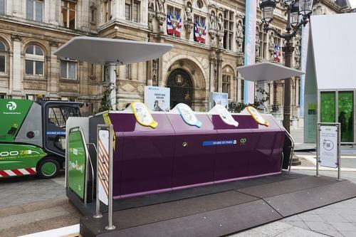 « Trilib' », le prototype d'apport volontaire innovant qui met le tri au coeur de la ville | Eco-Emballages