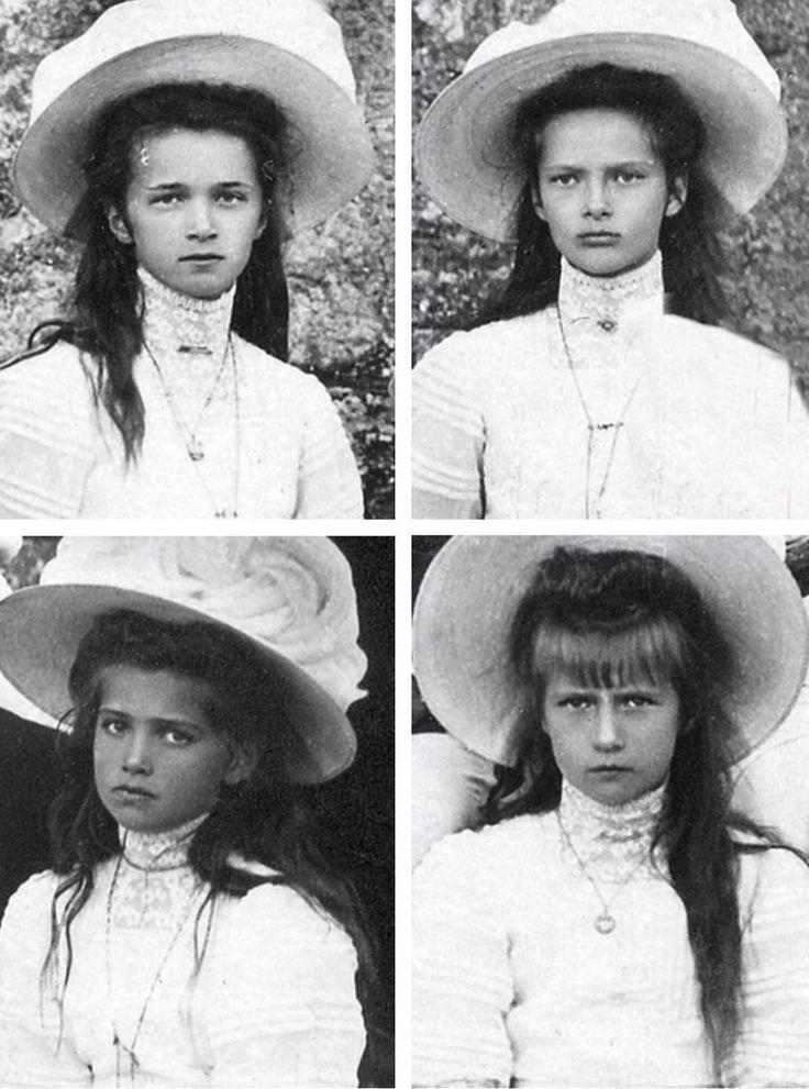 Olga, Tatiana, Maria, Anastasia