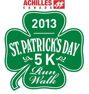 Achilles St. Patrick's Day 5k Run/walk