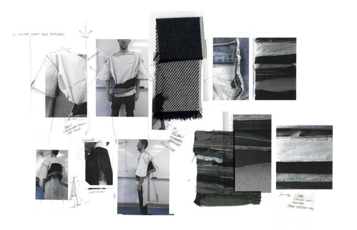 Ximon Lee SS 2014 [Graduate Collection] Journal Process Work. Ximon Lee has reinterpreted and subverted traditional notions of what denim can do and be. He has taken denim and completely re-imagined it.