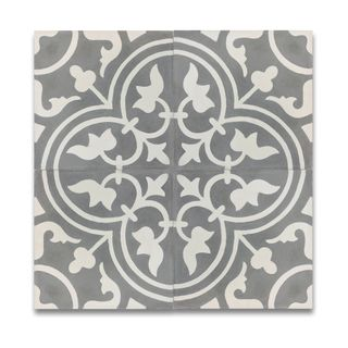 SomerTile 7.75x7.75-inch Thirties Classic Ceramic Floor and Wall Tile (Case of 25) | Overstock.com Shopping - The Best Deals on Floor Tiles